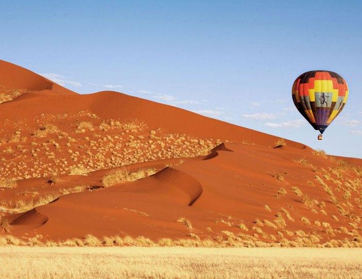 Namibia Ballooning over the Namib Desert