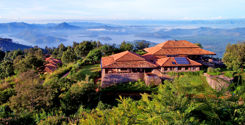 Rwanda Luxury Safari - Gorilla Tracking - Lodge