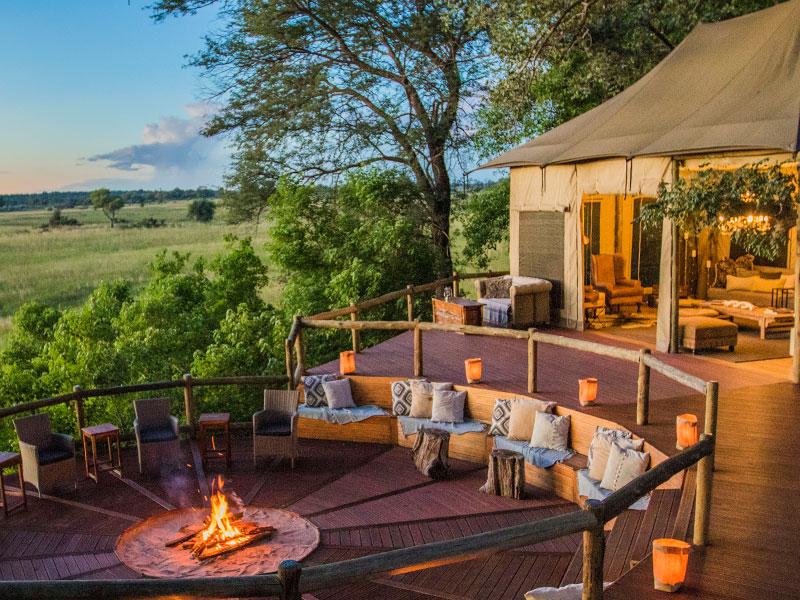 Nambwa Tented Lodge - Luxury Namibia tented Camp