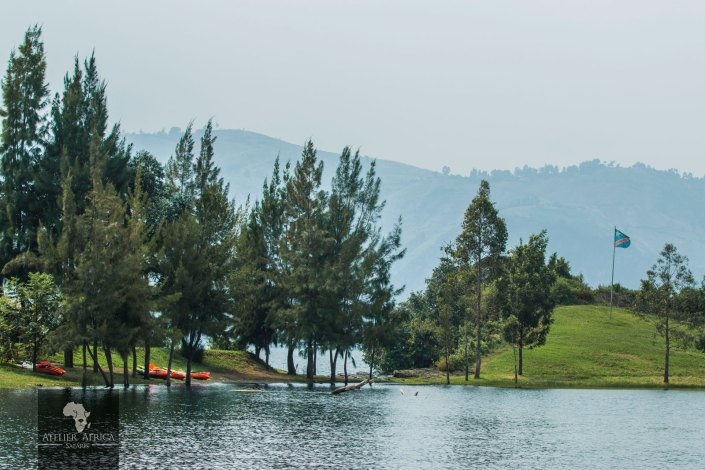 Lake Kivu - Island - Virunga Park