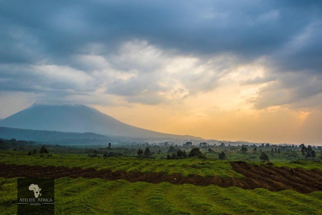 Congo Safari - View from Bukima Camp