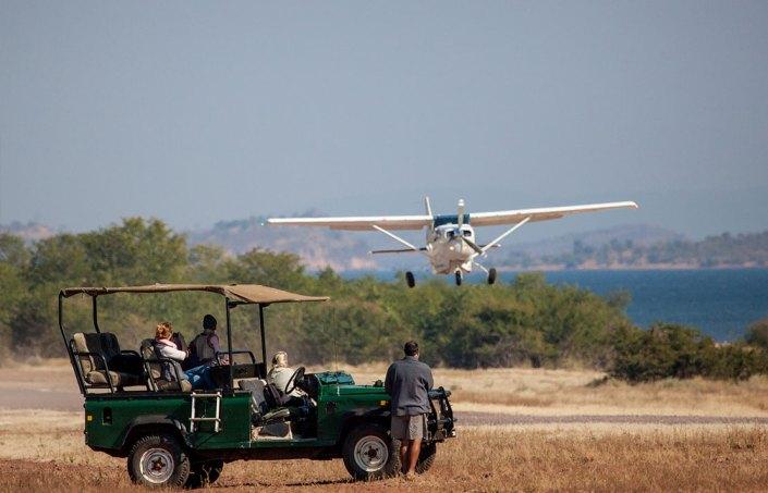 Airstrip - Musango Safari Camp - Zimbabwe