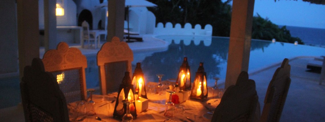 Kenya Romantic Beach Dinner