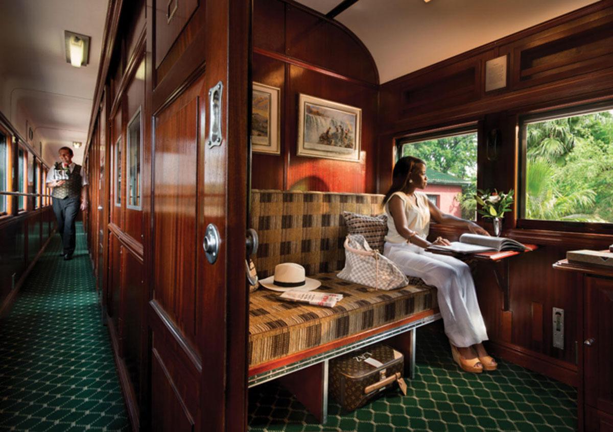 Rovos Rail trein door Afrika in luxe