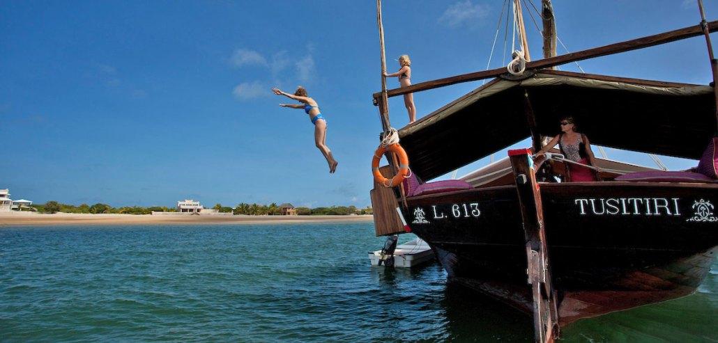 Tusitire Dhow Private Boat Safari Kenya Lamu1