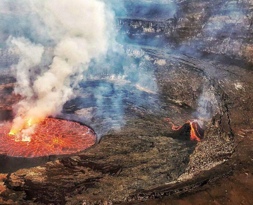 Virunga Park Nyiragongo Volcano