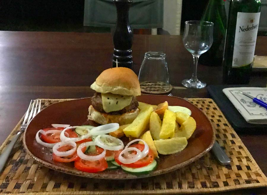 Tchegera Island Food