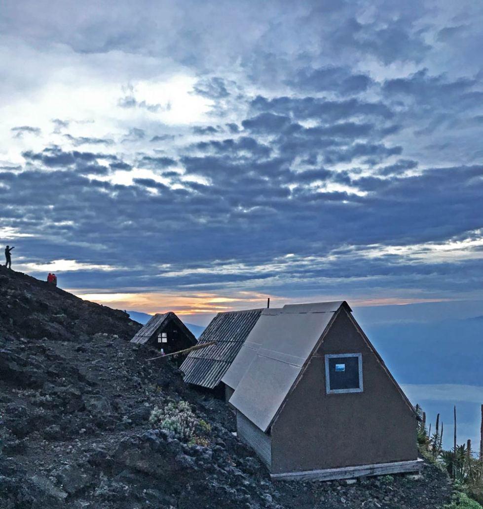 Nyiragongo Volcano Cabins