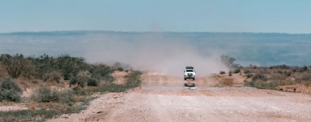 Namib Desert Roads