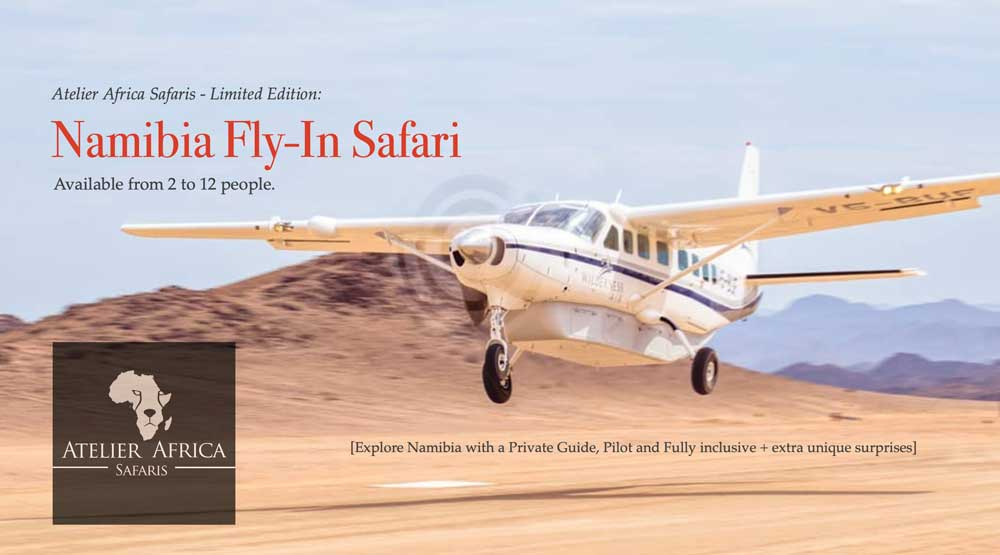 Fly In Safari Namibia by Atelier Africa