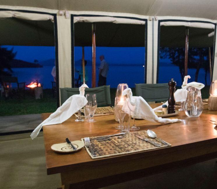 Bukima camp dinner