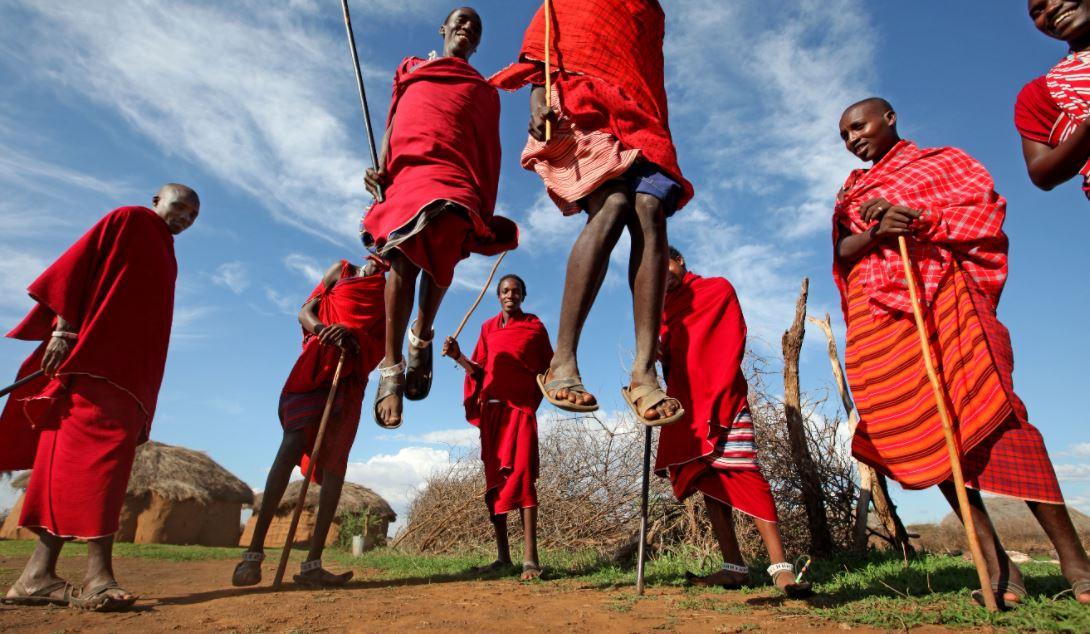 Dansende Masai