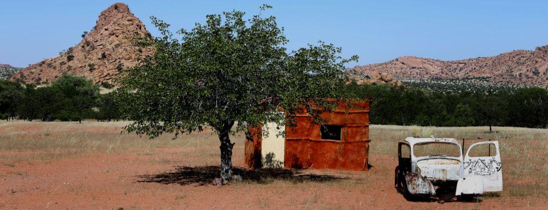 Namibië auto