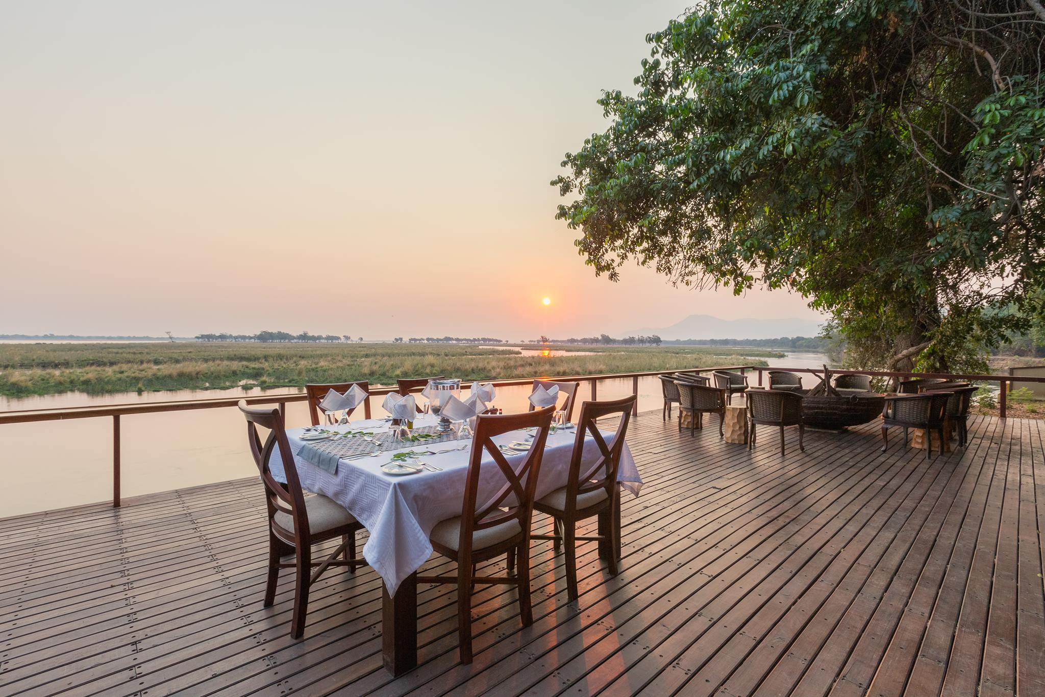 Lower Zambezi Sausage Tree Camp