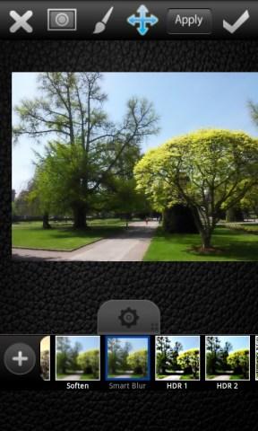 Appliquer des effets grâce à l'application PicsArt sur android