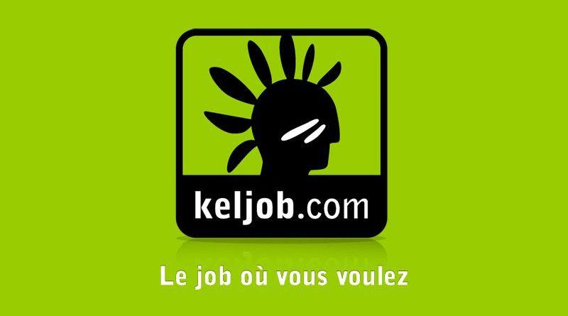 Application Keljob pour la recherche d'emploi sur mobile