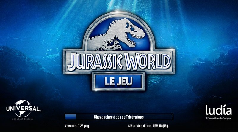 Jeu Jurassic World sur android