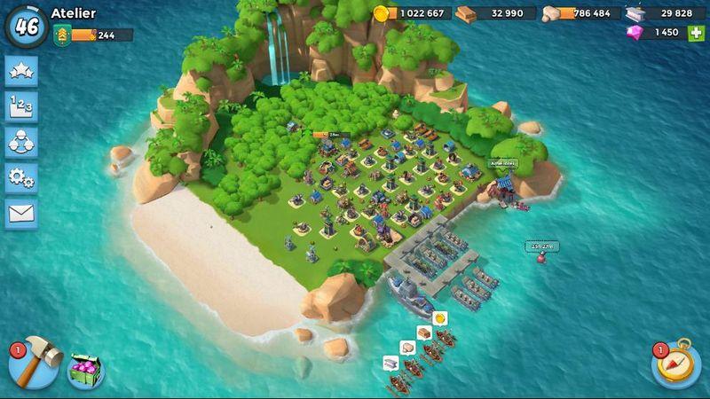 Développer sa base - Boomb Beach