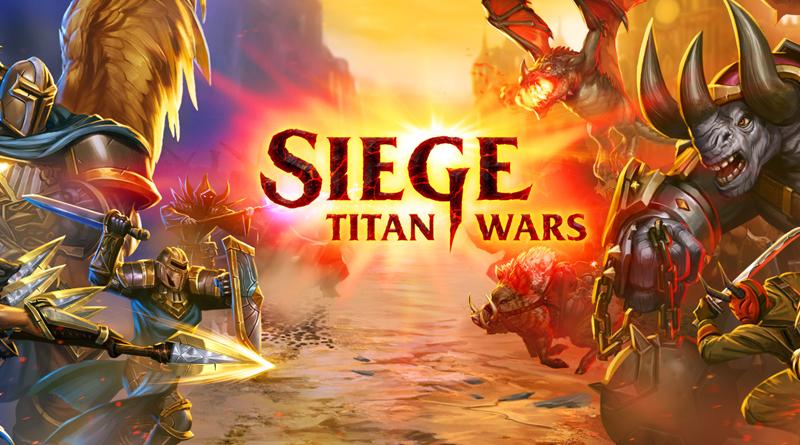 Siege Titan Wars, menez vos titans à la bataille