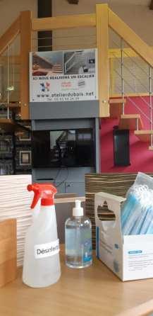 Ouverture showroom avec toutes les précautions sanitaires !