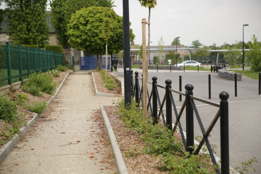 Ville de Etrelles - école publique - Aménagement ABE