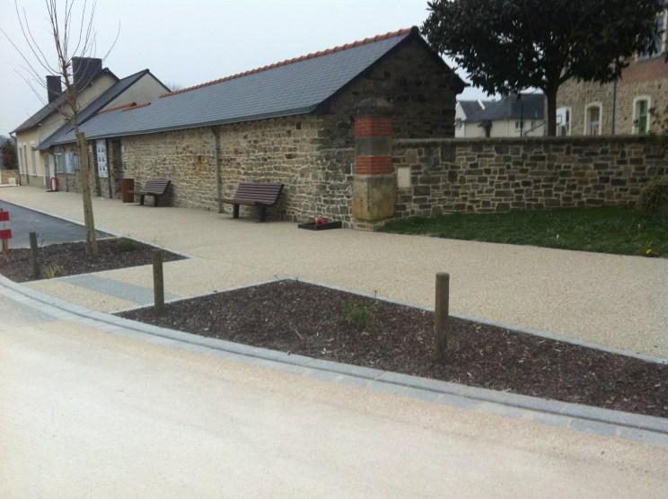 Balazé - centre bourg - Réalisation ABE