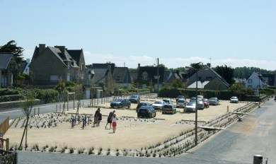 Saint-Lunaire-parking de Longchamp-Réalisation ABE