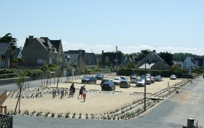 Saint-Lunaire-parking de Longchamp-Réalisation ABE
