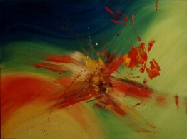 Explosion klein