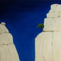 blauer Fels Schlucht