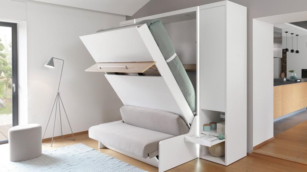 fabriquer un lit escamotable atelier