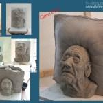 Bildhauerei Nach Mass Personliche Busten Kopf Buste Skulpturen Plastiken Figuren Statue Modellieren Nach Foto Plastizieren Tonbusten Skulptur Auf Bestellung Nach Vorlage Anfertigen Lassen Sonderbestellung
