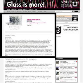 article web glass is more concorso milano vetro