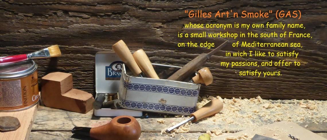 Gilles art n smoke workshop home page
