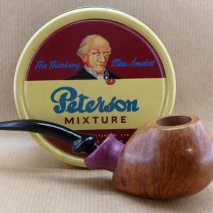 Présentation d'une très belle pipe à tabac en Bruyère et bois d'Amarante.