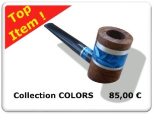 Top Item : Tobacco pipe of the collection COLORS #1