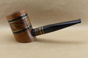 """Presentation of the """"COLORS"""" collection : Contemporary tobacco pipe. No3 Thuyawood burl."""