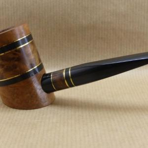 "Presentation of the ""COLORS"" collection : Contemporary tobacco pipe. No3 Thuyawood burl."