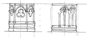 Schéma architecture gothique