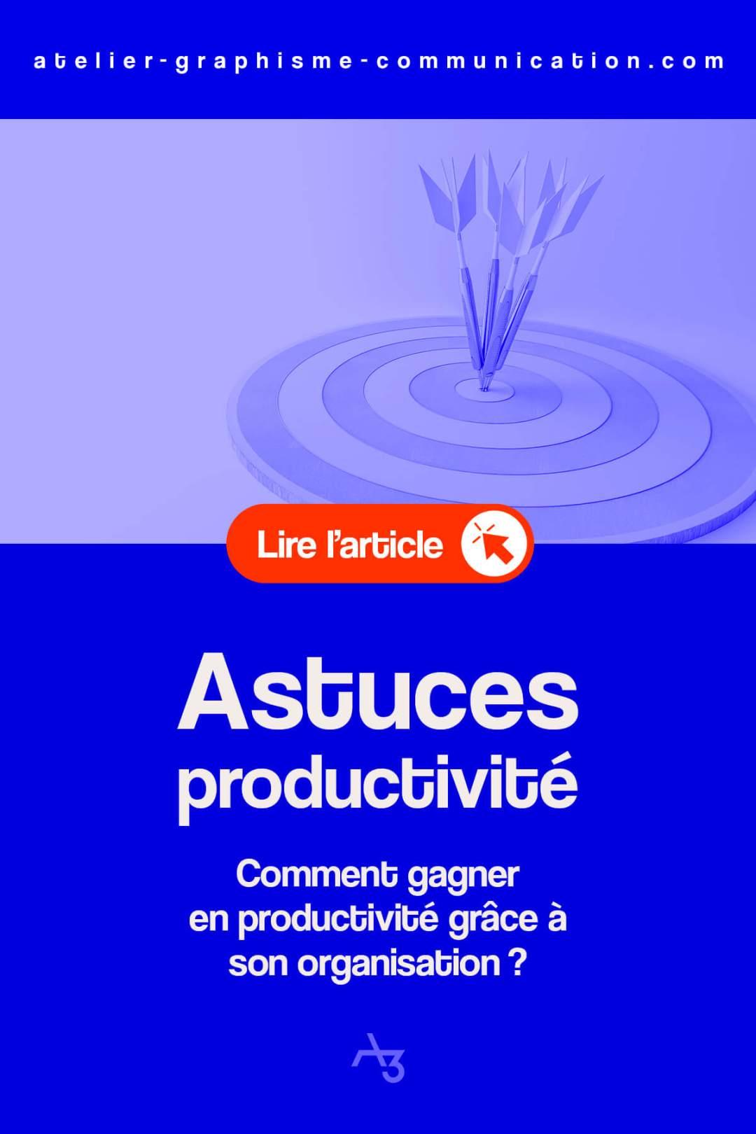 Astuces productivité