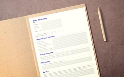 Cahier des charges pour la création de votre logo