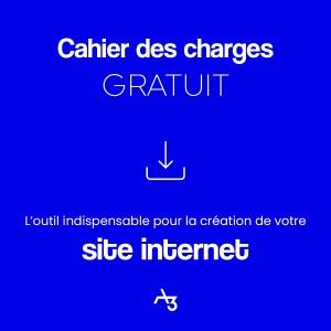 Cahier des charges pour site internet
