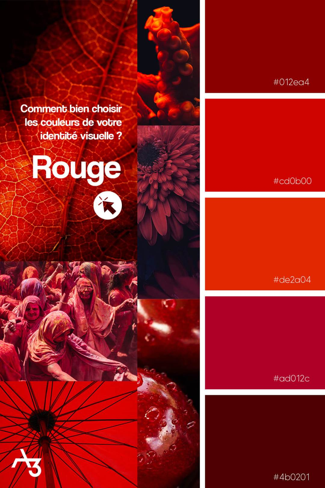 Palette rouge