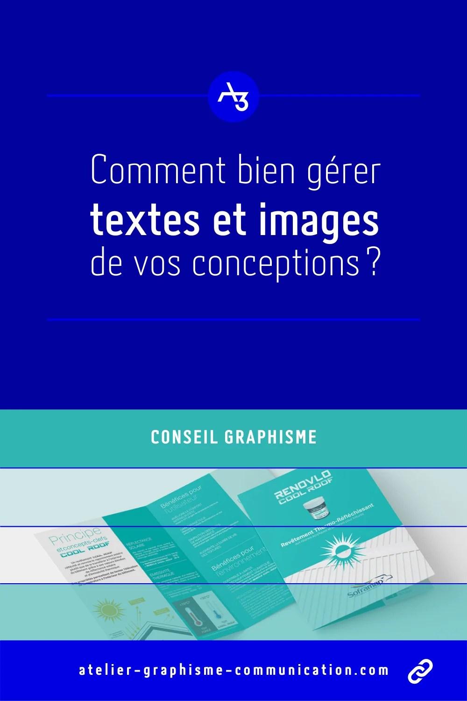 Conseils graphisme textes et images