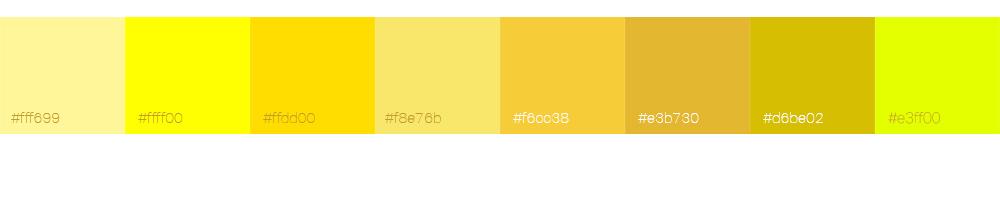 Bien choisir la couleur de son logo : le jaune