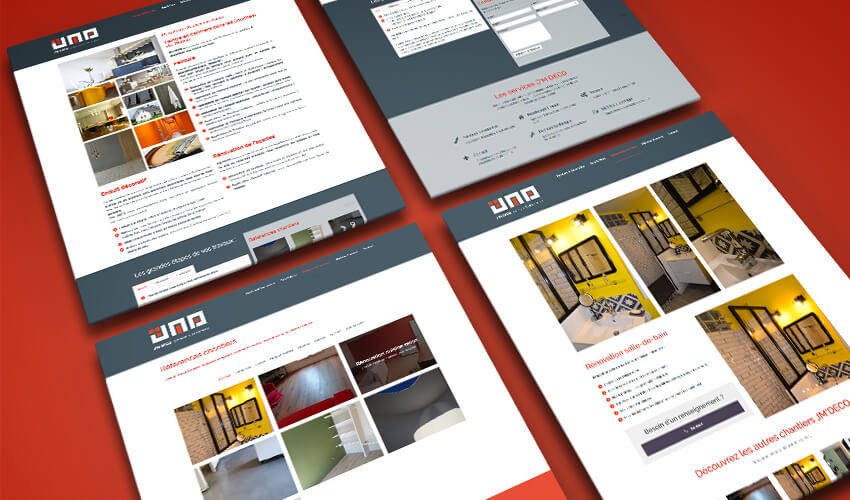 Création de site Web vitrine