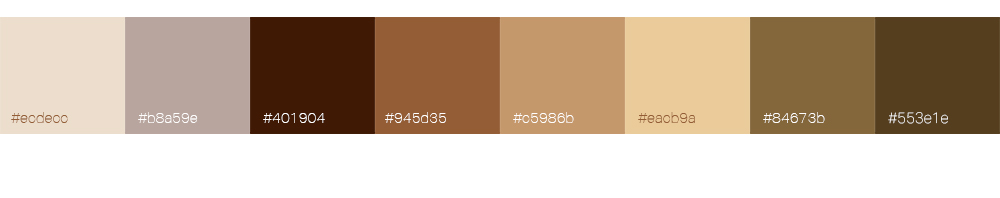 Bien choisir la couleur de son logo : le marron