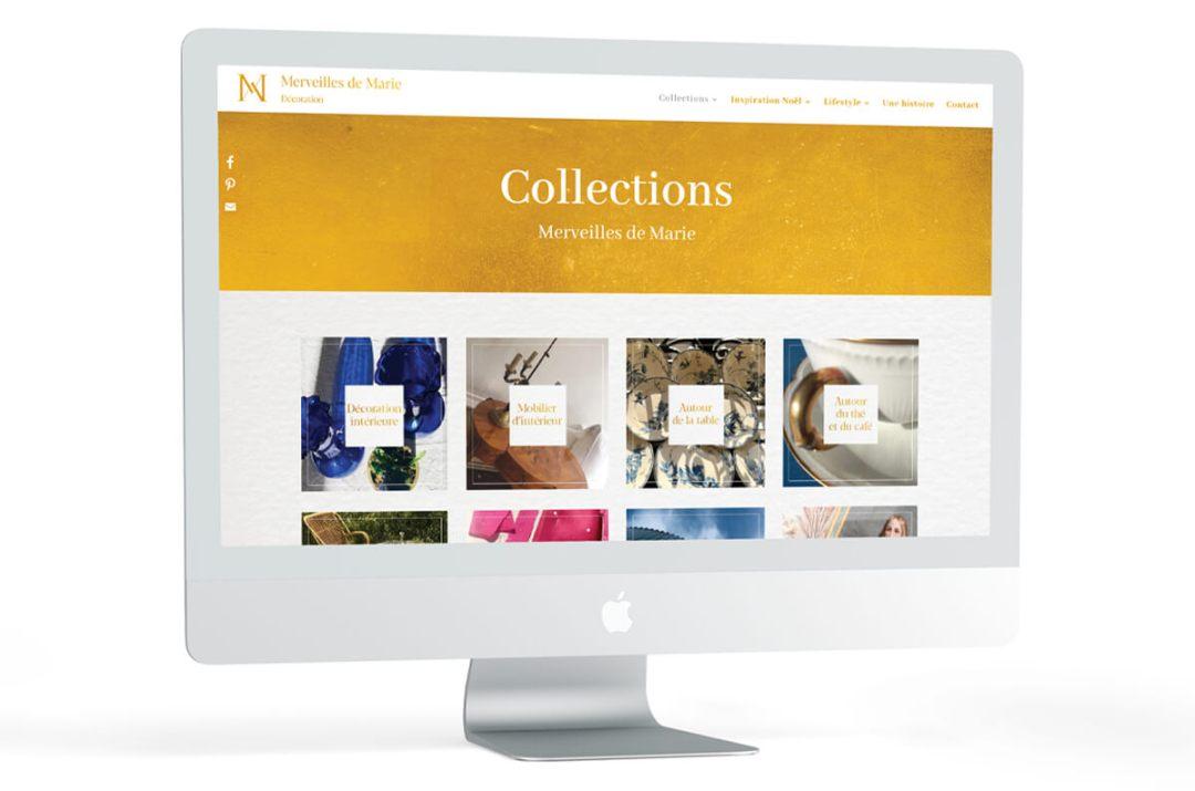 Site internet Merveille de Marie
