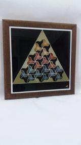 Printed Ceramic (24) Papillon en Envol Atelier Khatt