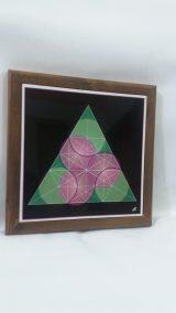 Printed Ceramic (30) Courbes dans le Triangle Atelier Khatt